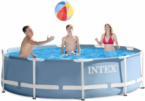 intex rectangle above ground pool